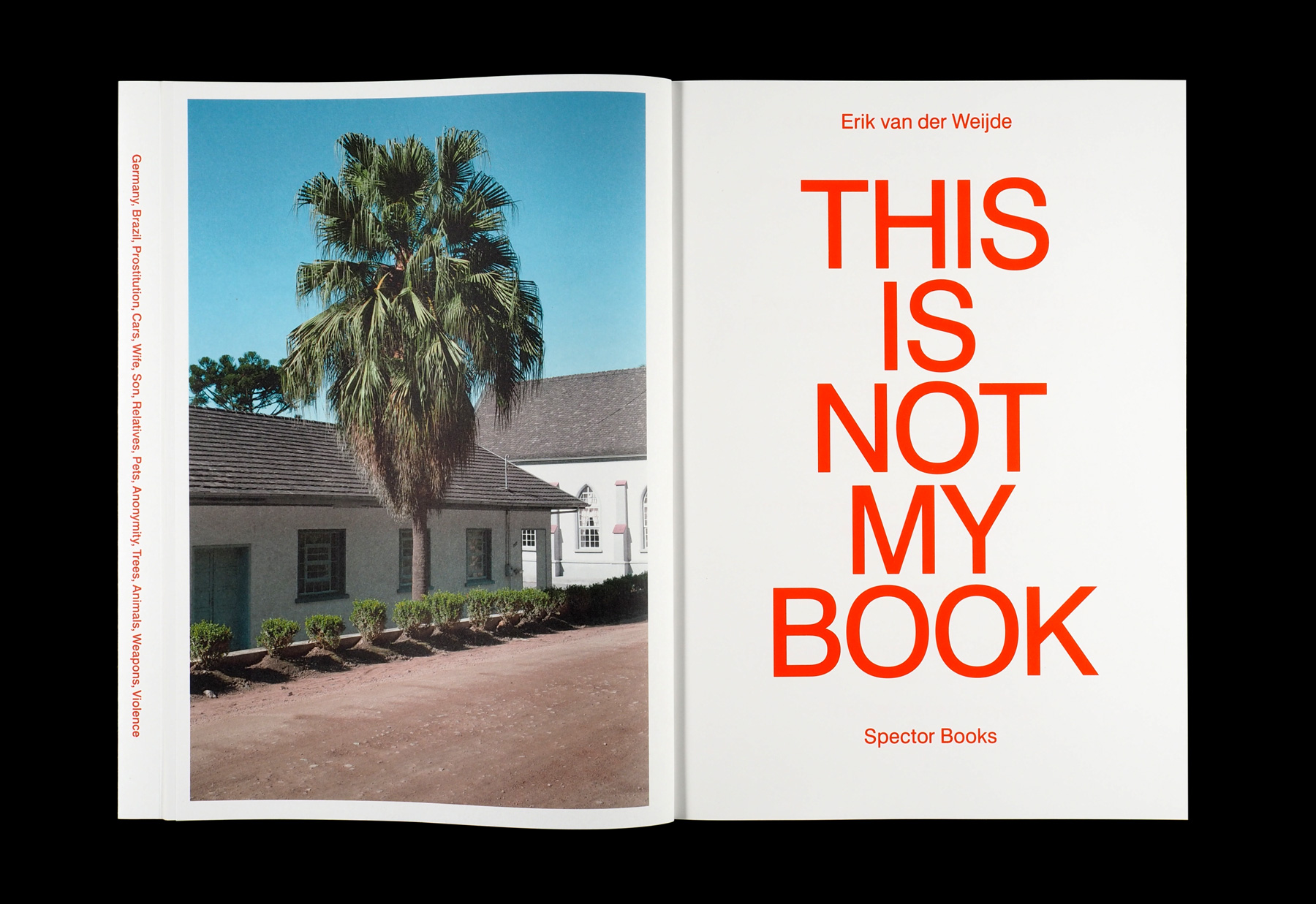 Fabian Bremer / Pascal Storz: Erik van der Weijde, This Is Not My Book